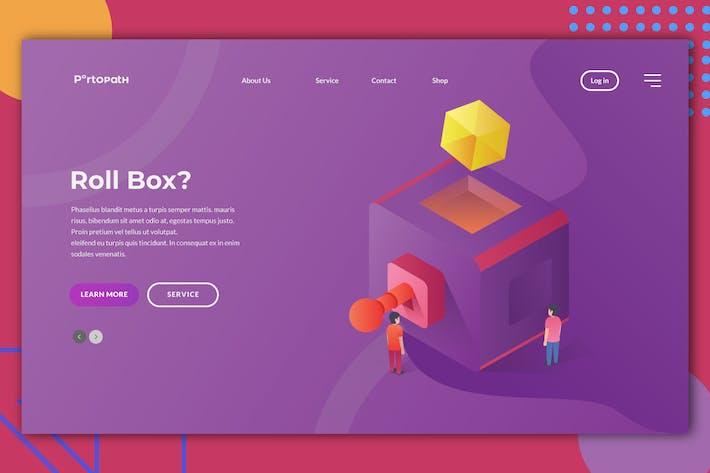Thumbnail for Roll Box Web Header Illustration