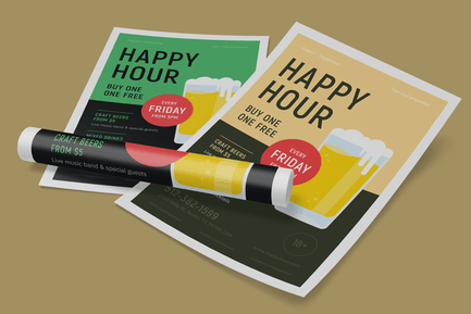 Happy Hour Poster #2