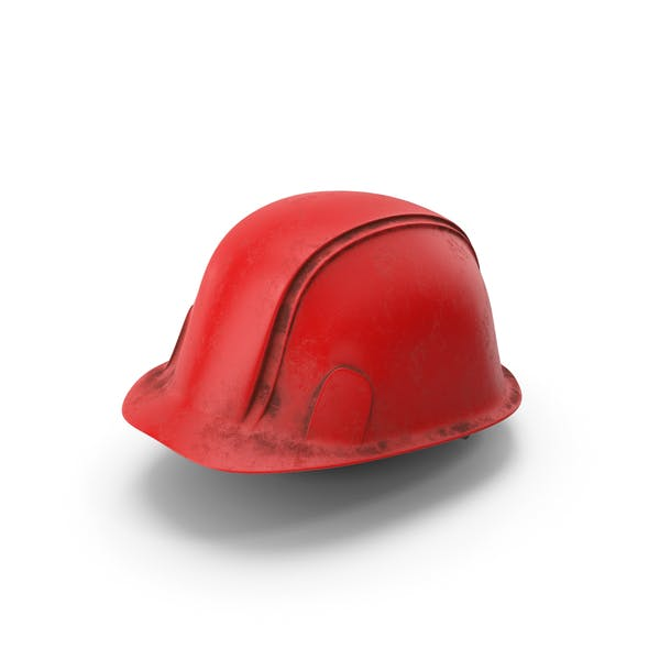 Hard Hat Dirty Red