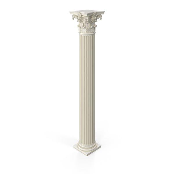 Thumbnail for Ромчатая римская коринфская колонна