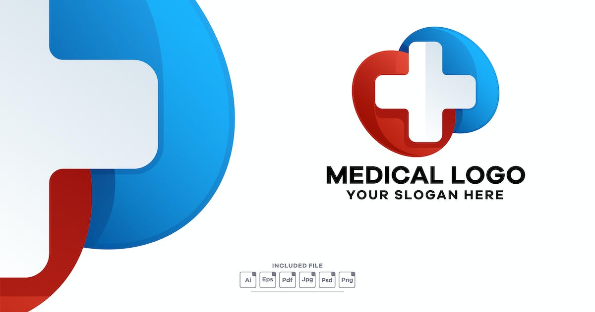 Download Medical Gradient Logo Template by yuanesei