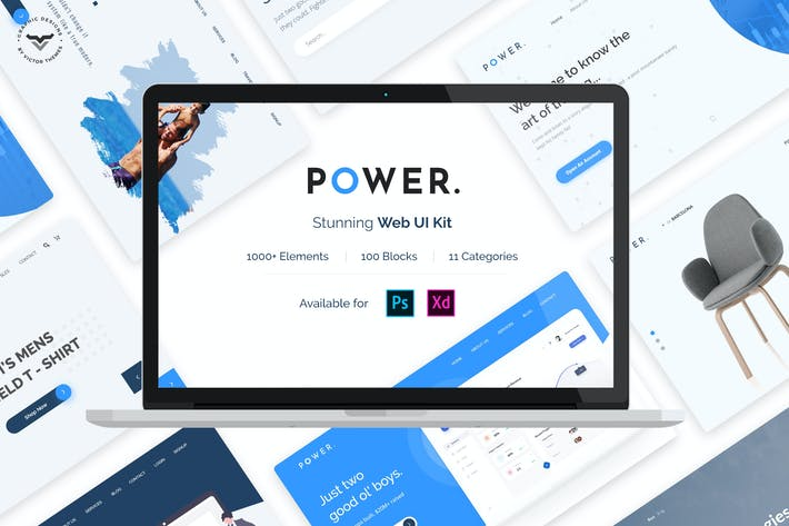 Thumbnail for Power Web UI Kit