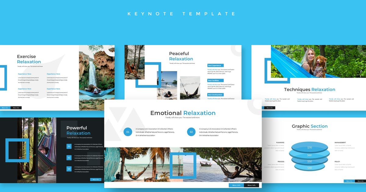 Download Holiday - Keynote Template by aqrstudio