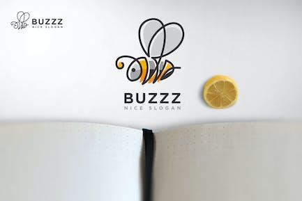Buzzing Bee - Bumblebee Logo