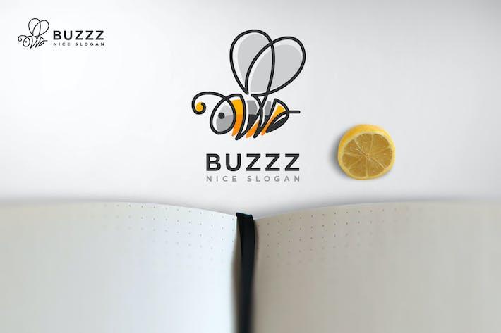 Thumbnail for Buzzing Bee - Bumblebee Logo