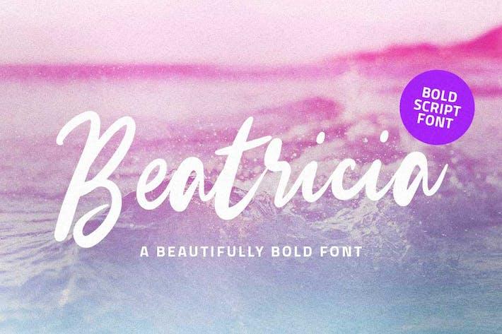 Beatricia | Fuente de escritura moderna
