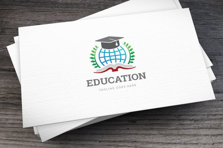 Thumbnail for Education Globe Logo Template