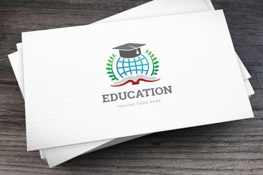 Education Globe Logo Template