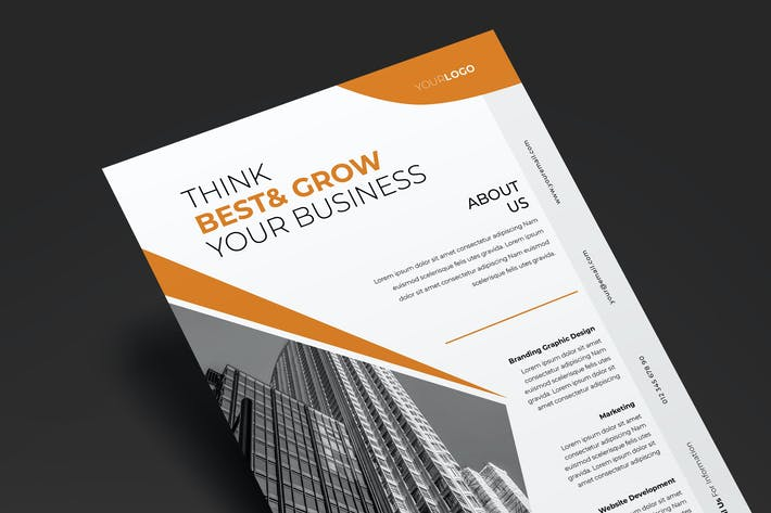 Thumbnail for Corporate Flyer