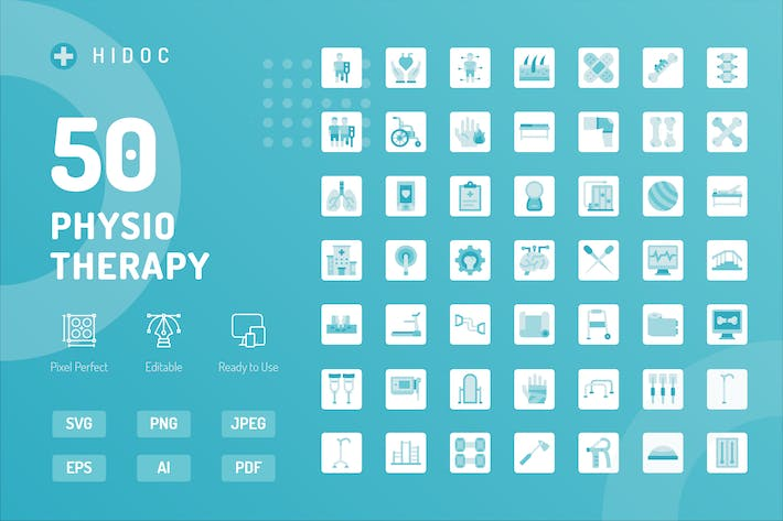 Thumbnail for Hidoc - Physiotherapie Icons