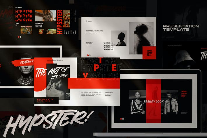 Thumbnail for Hypester - urban design creative powerpoint