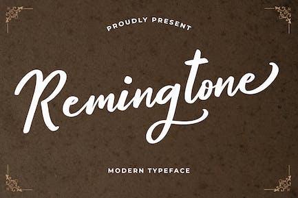 Remington Belle police de calligraphie