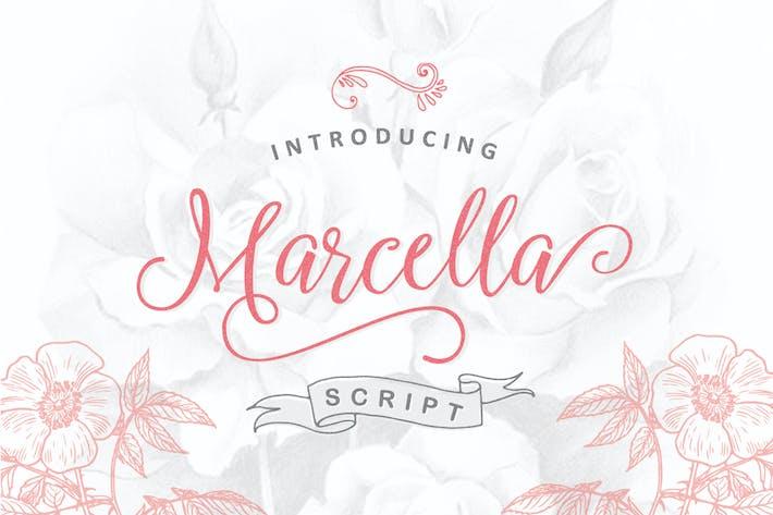 Thumbnail for Marcella Script