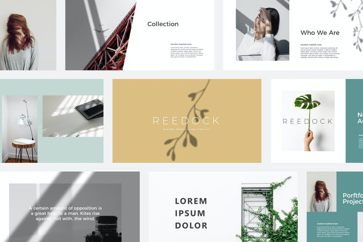 Thumbnail for Reedock | Powerpoint Templates