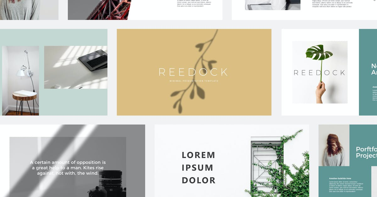 Download Reedock | Powerpoint Templates by amarlettering