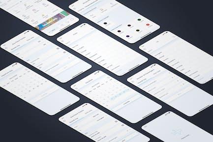 Plane Tickets - Wallet Mobile UI - FP