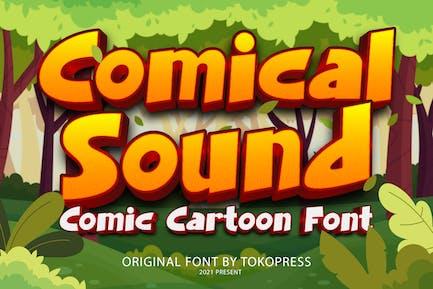 Comical Sound - Children Font