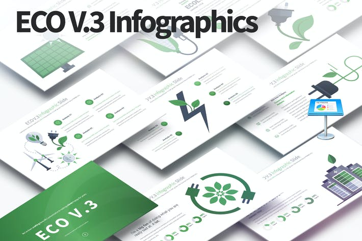 Thumbnail for ECO V.3 - Keynote Infographics Slides