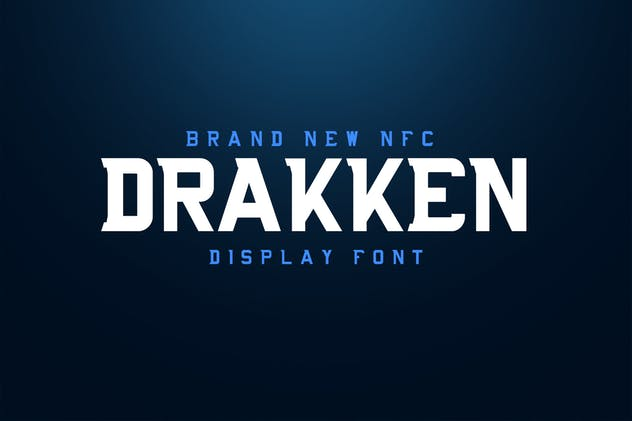 DRAKKEN EXCLUSIVE DISPLAY FONT - product preview 0