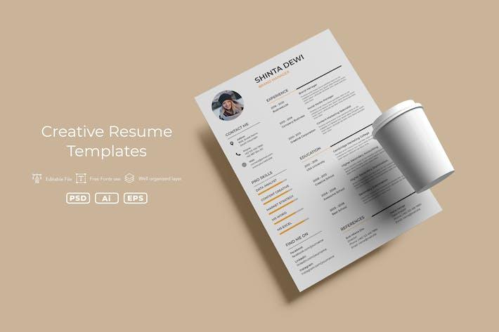 Thumbnail for ADL Resume Template v.01