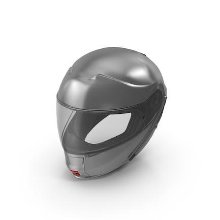 Grey Racing Helmet