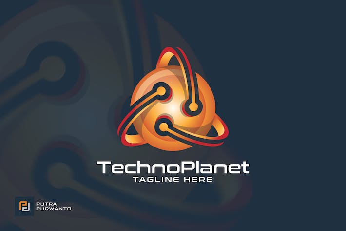 Thumbnail for Techno Planet - Logo Template
