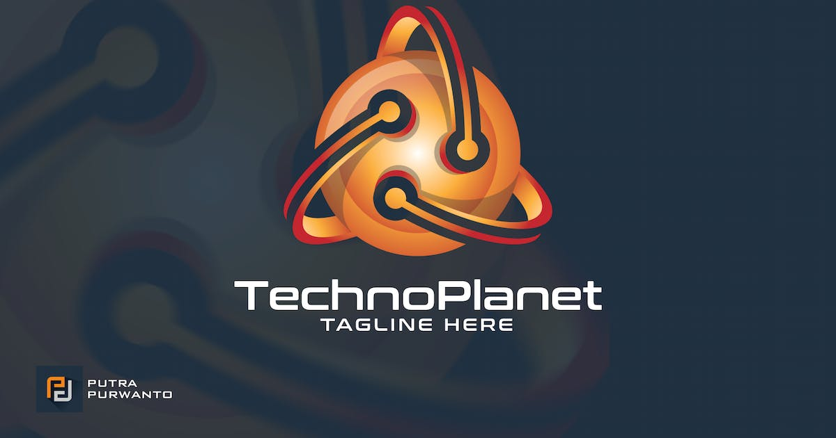 Techno Planet - Logo Template by putra_purwanto