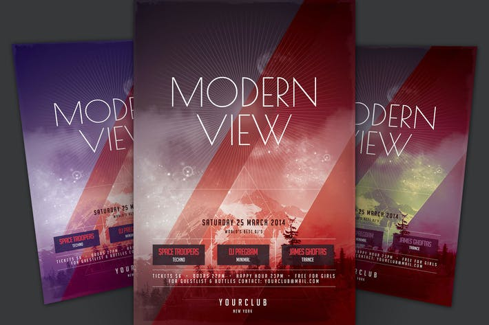 Thumbnail for Modern View Flyer