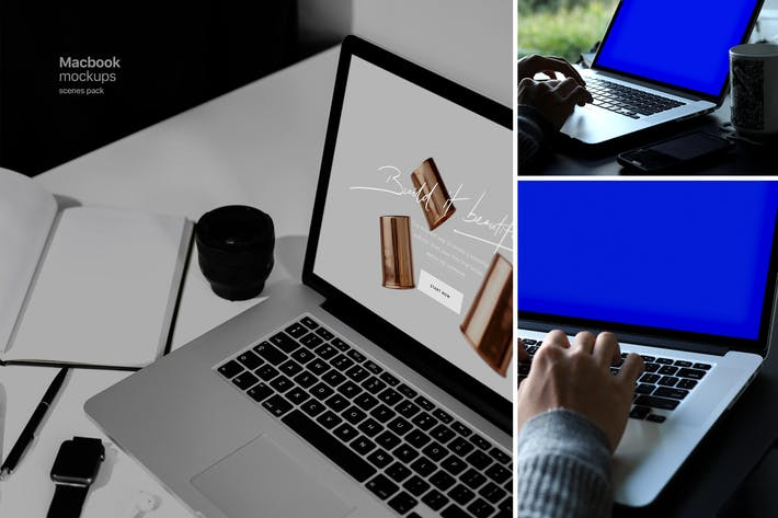 Thumbnail for Macbook Pro Mockups