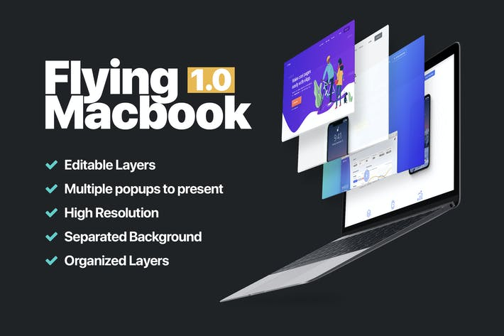 Thumbnail for Macbook Mockup 1.0
