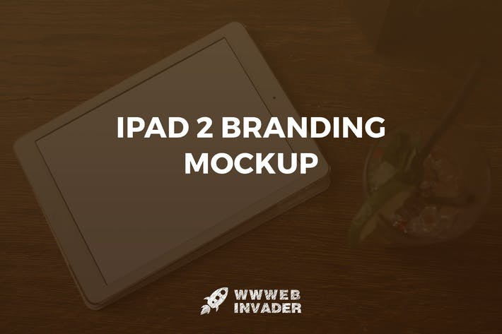 Thumbnail for iPad 2 Branding Mockup