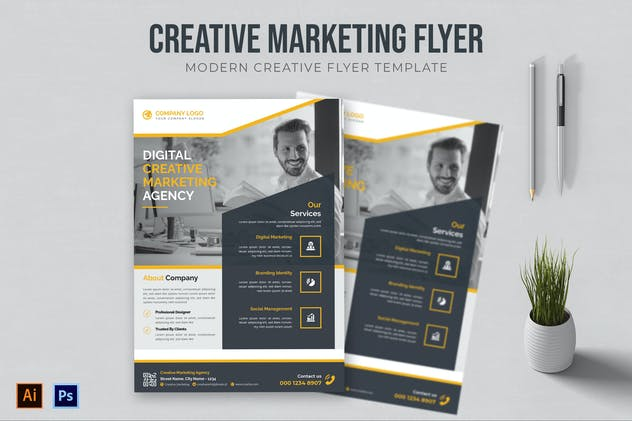 Creative Marketing - Flyer
