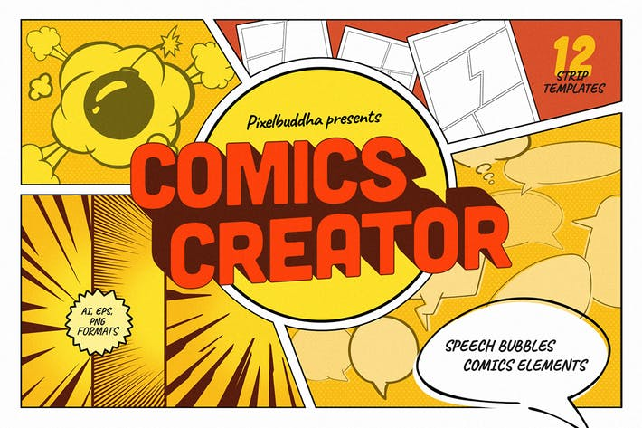 Thumbnail for Creador de cómics