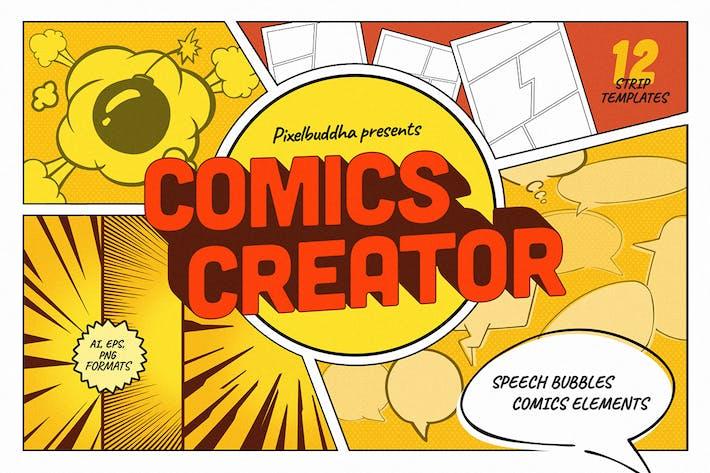 Thumbnail for Создатель комиксов