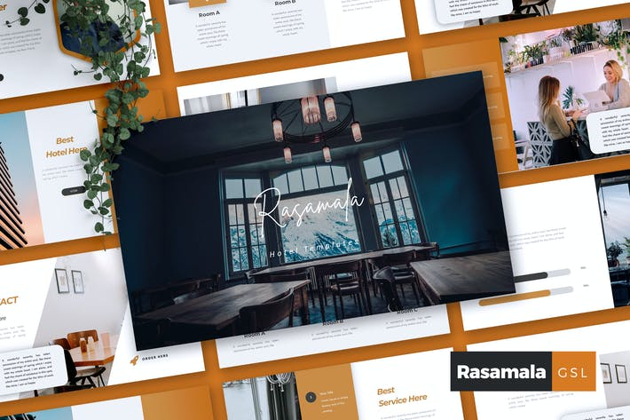 Thumbnail for RASAMALA - Hotel Google Slides Template