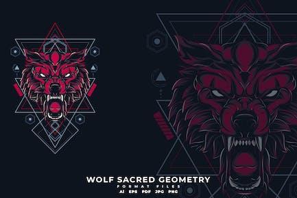 Wolf heilige Geometrie