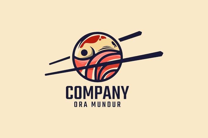 Sushi Logo Mascot