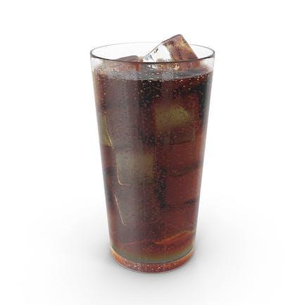 Cola mit Tröpfchen