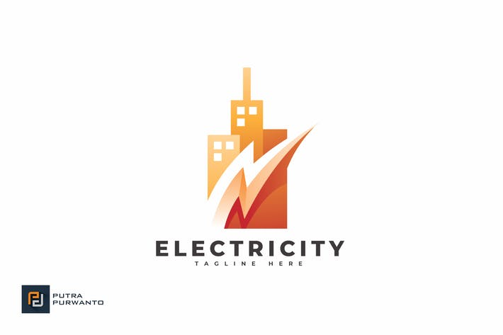 Electricity - Logo Template