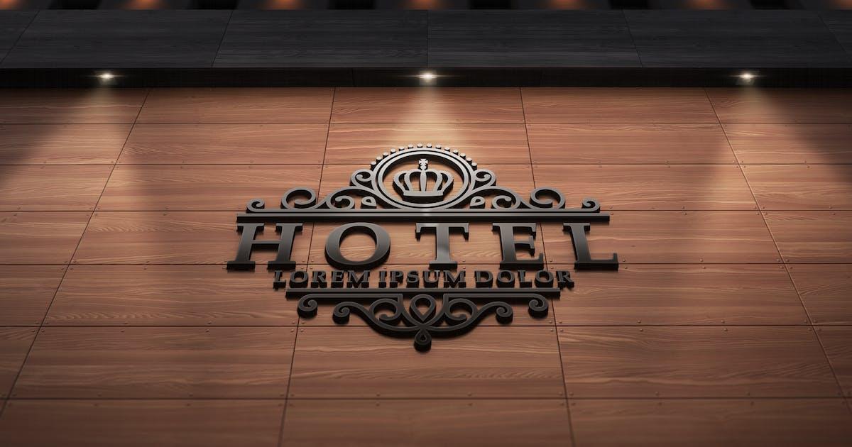 Download 3D Logo Modern Wall Sign Mock-Ups by Kheathrow