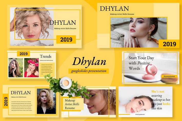 Thumbnail for Dhylan Beauty Salon Google Slides