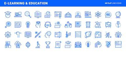 Aprendizaje electrónico y educación
