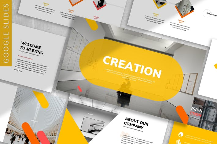 Thumbnail for Creation - Business Google Slide Template