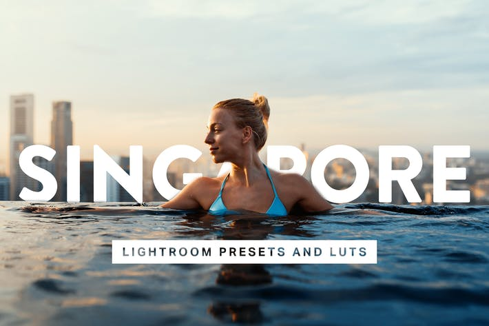 Thumbnail for 50 Singapore Lightroom Presets and LUTs