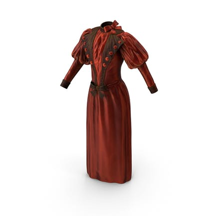 Vintage Dress Vray Delivery