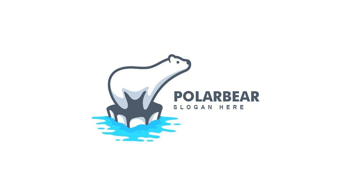 Download Simple Modern Polar Bear Logo Template by ivan_artnivora