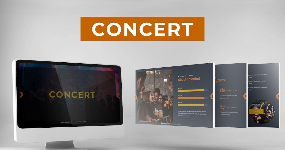 Download Concert - Powerpoint Template by karkunstudio