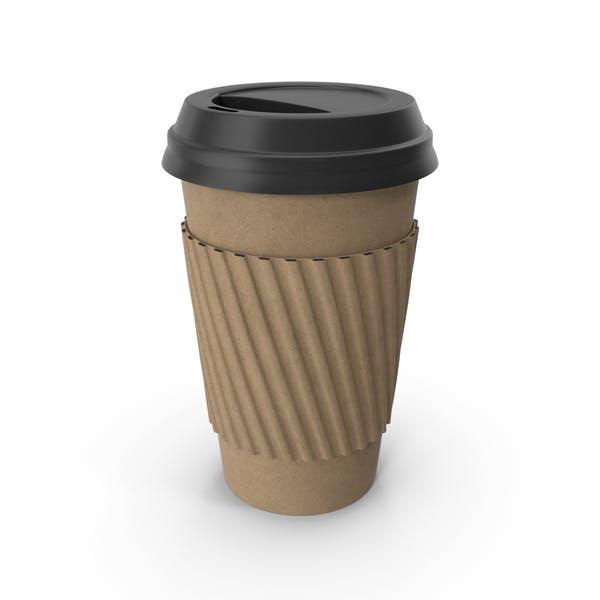 Одноразовая чашка кофе