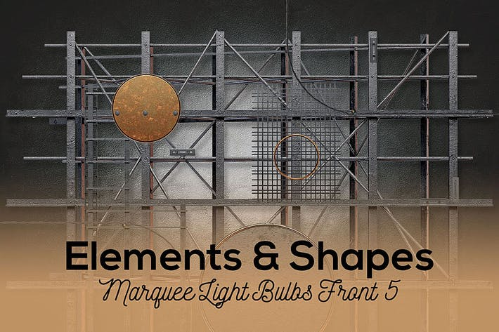 Thumbnail for Marquee Light Bulbs Front 5 - Elements & Shapes