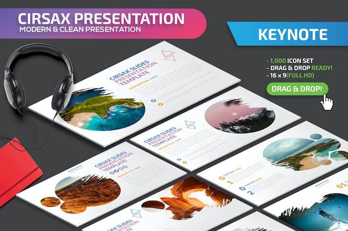 Thumbnail for Cirsax Keynote Presentation Template